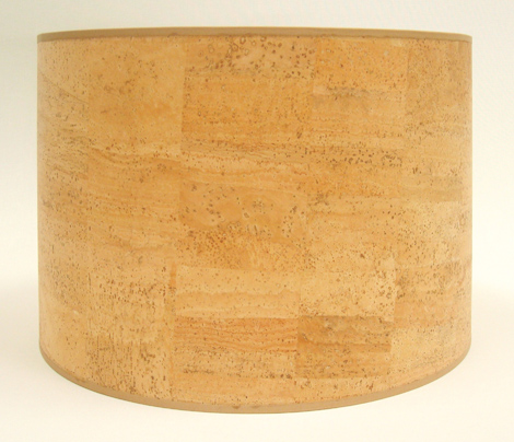 The lampshade gallery san diego california cork drum lampshade cork drum lampshade aloadofball Images