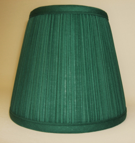 Awesome Forest Green Mushroom Pleated Empire Lampshade